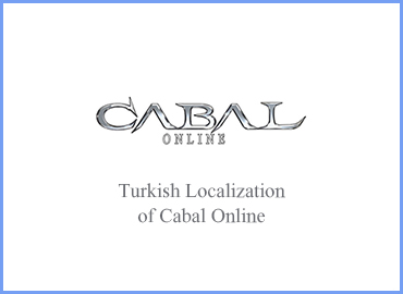 Turkish translation and proofing of a famous MMORPG, Cabal Online