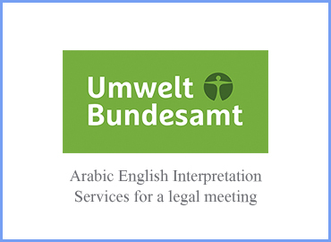 Consecutive Arabic English translation and interpretation for 2 days round table meeting