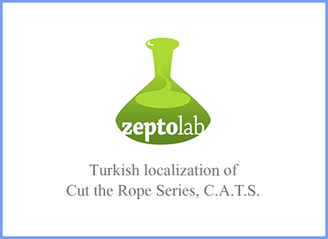 Turkish mobile game localization of Cut the Rope Series, C.A.T.S.